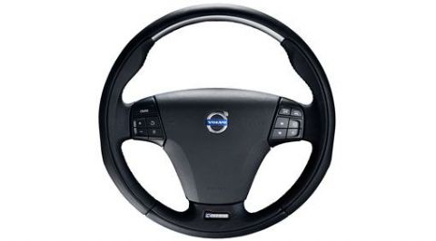 C30 Sports Steering Wheel - Aluminium